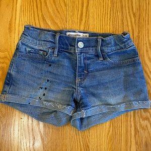 Abercrombie girls shorts